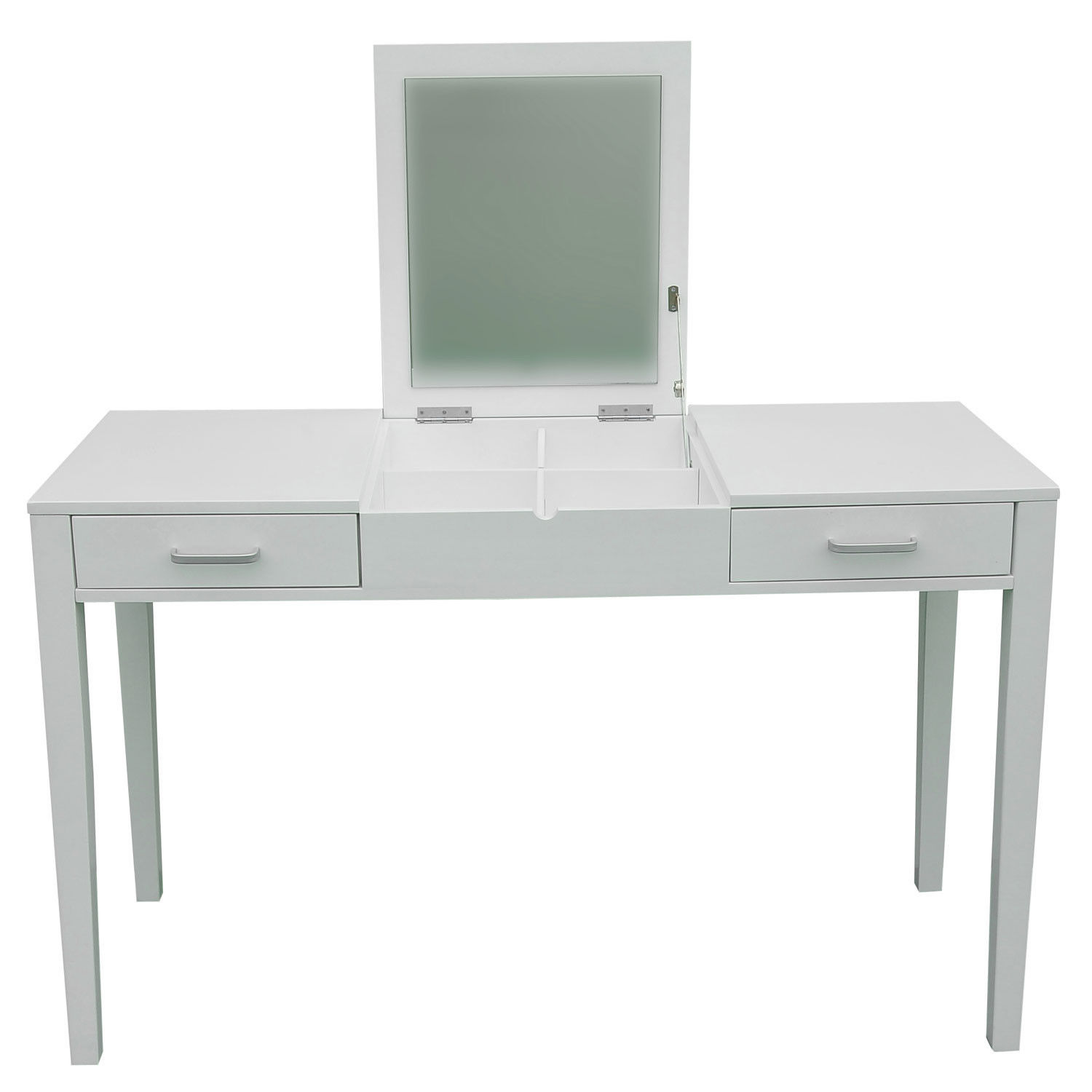47 l vanity makeup dressing table desk make up lift top for Makeup vanity table and mirror