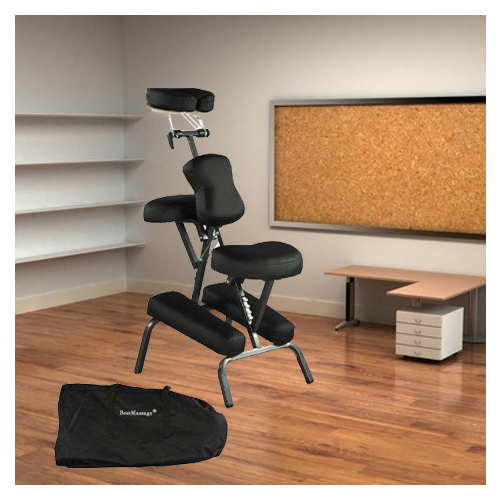New Portable Massage Chair Tattoo Spa Free Carry Case