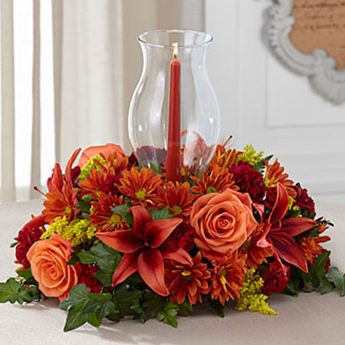 Ftd heart of the harvest centerpiece deluxe smart cart