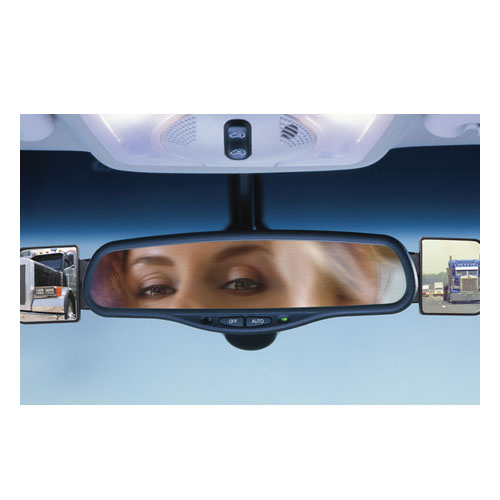 set of 2 automotive interior blind spot mirrors smart cart. Black Bedroom Furniture Sets. Home Design Ideas