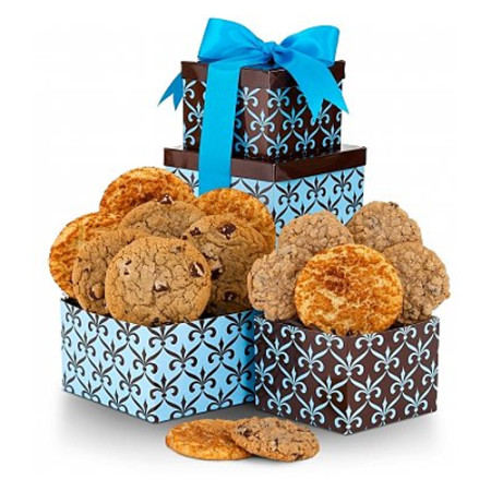 Delicious Dozen Cookie Tower