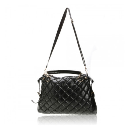 PU Casual Style Big Bag with Small Bag Black