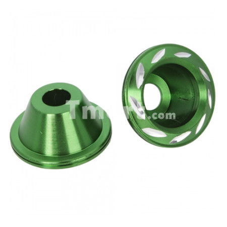 Motorcycle Damping Fork Cup Green