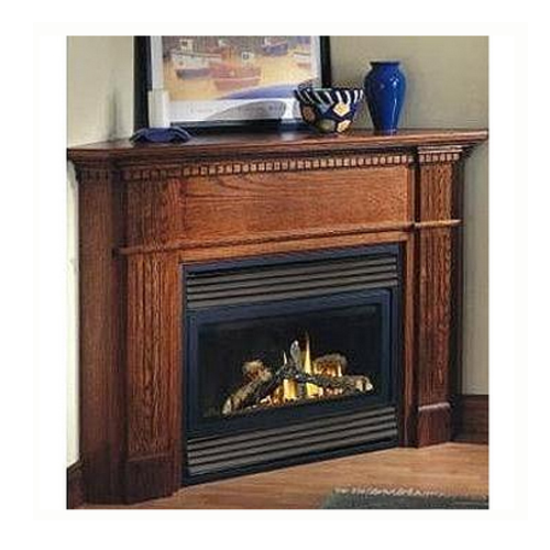Electronic Ignition Vent Natural Gas Fireplace Smart Cart