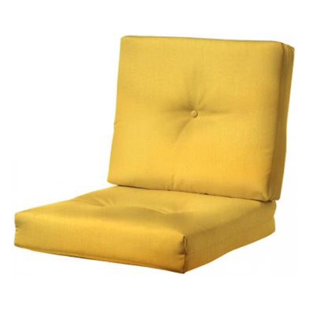 BUTTON-TUFTED DEEP SEATING OUTDOOR CHAIR CUSHION