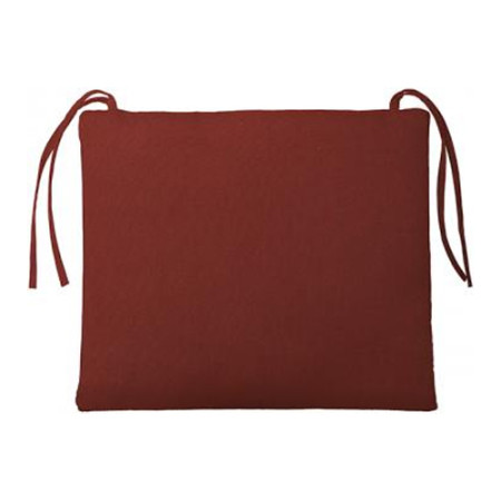 BULLNOSE RECTANGULAR OUTDOOR CHAIR CUSHION